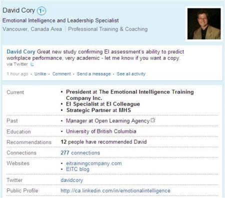 http://ca.linkedin.com/in/emotionalintelligence